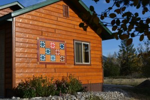 Barn Quilt by Shirley Greenhoe